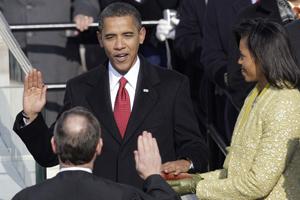历届美国总统就职典礼经典画面