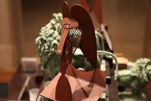 [視頻]芝艺術馆展出毕加索作品