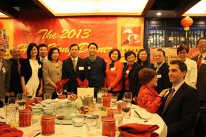 芝加哥香港华协会蛇年晚宴举办
