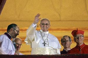 新教宗方濟 「窮人的鬥士」