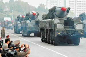 北韓可能10日射彈 日擬摧毀