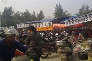 廈門4000人 圍堵鎮政府