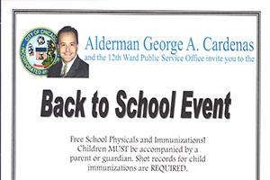 芝加哥12区为儿童提供免费健康服务