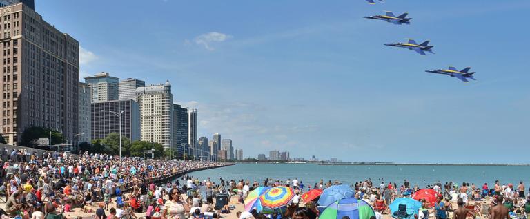 2013芝加哥水上航空表演图集