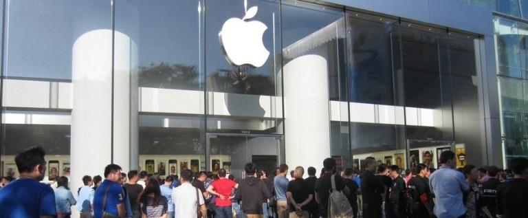 直击苹果iPhone 5S/5C 首次第一批发售中国市场