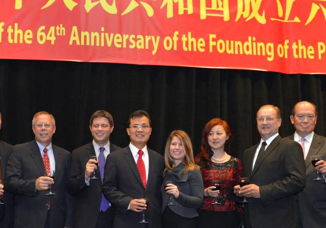 国庆64周年:芝加哥国庆招待会以及大型文艺晚会