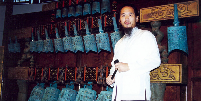 吴慎教授将中国音疗养生学推广到世界