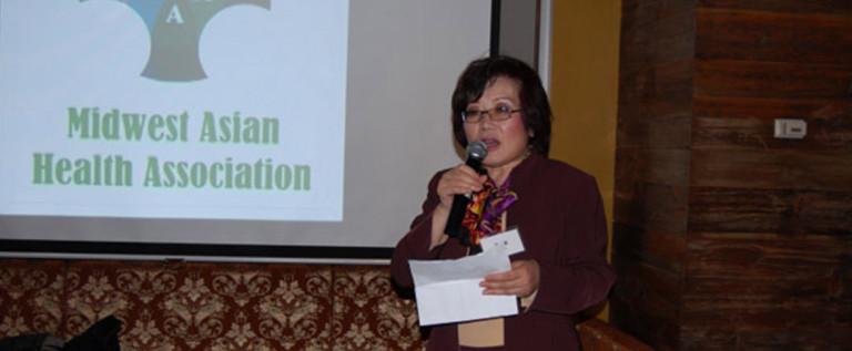美中亚裔健康协会2014年1月社区健康服务项目