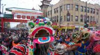 芝加哥全城庆祝中国新年到来
