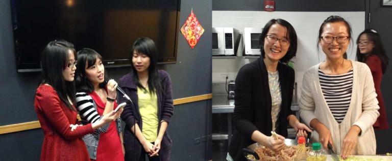 包饺子 过新年 中国人民大学校友会大芝加哥地区春节联欢