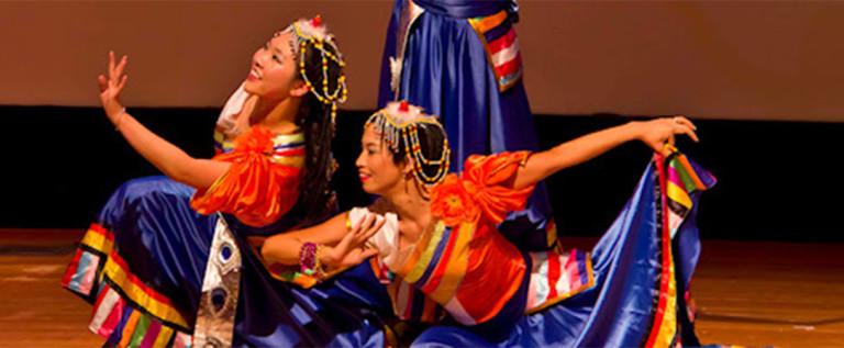 2014希林灯节演出精彩视频——藏族女子三人舞蹈 《格桑梅朵》