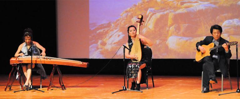 2014希林灯节演出精彩视频——器乐合奏: 《菊花台》《万水千山总是情》