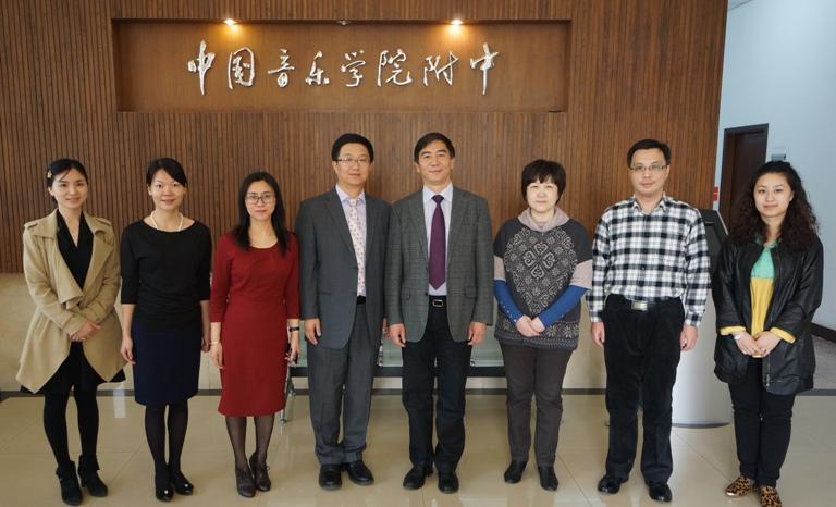 2014-4-3 朱冰峰在中国音乐学院附中