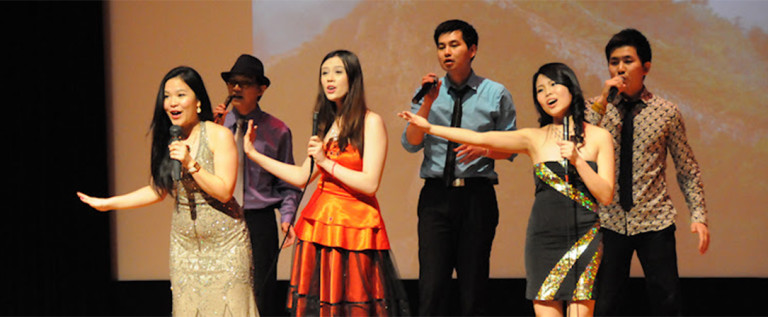 2014希林灯节演出精彩视频——男女声小组唱 《思念》《亞洲雄風》