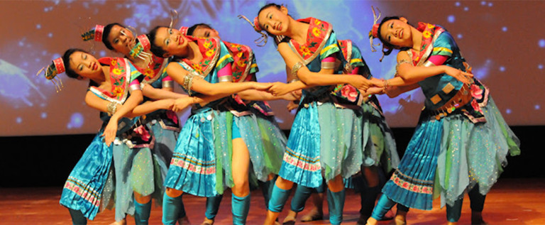 2014希林灯节演出精彩视频——苗族青年舞蹈《苗染》
