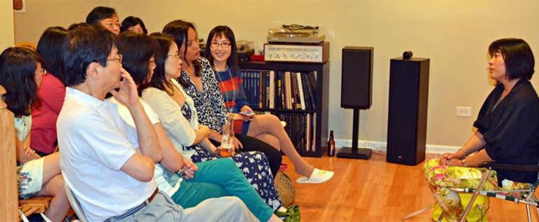 """文化村邀请加州华人作家举办 """"海外华人小说创作谈"""" 讲座"""