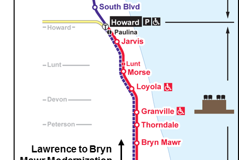 红线,紫线地铁站将重建