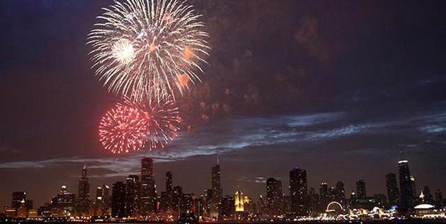 芝加哥2014庆国庆看烟火攻略!
