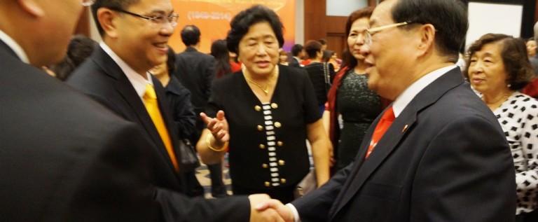 中国驻旧金山总领馆国庆65周年招待会