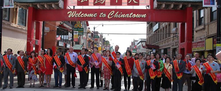 【视频】大芝加哥地区华人华侨举行国庆游行