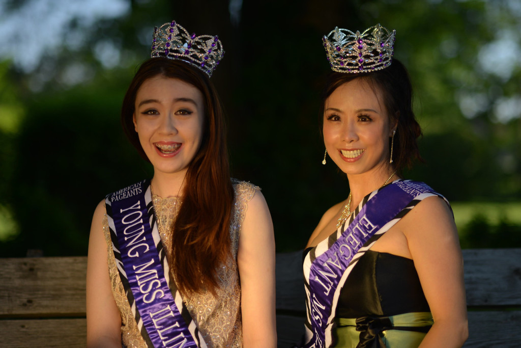 model 17 yin and Christel in May 2014