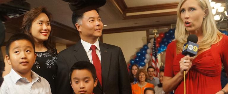 加州华裔新移民刘云平当选美国国会众议员
