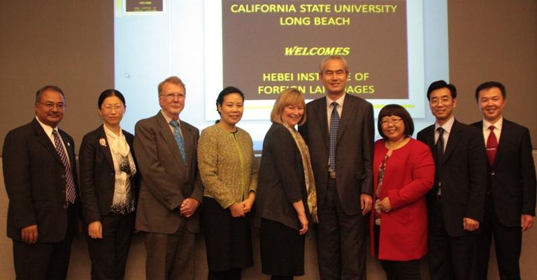 加州长滩州立大学孔子学院正式成立 1