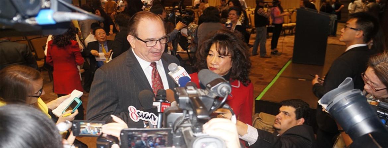 加州参议员夏乐柏宣布将参选洛杉矶县县政委员 重视华裔选票