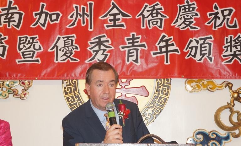 2015-3-27 南加州华裔优秀青年颁奖典礼 国会外交事务委员会主席Ed Royce致词