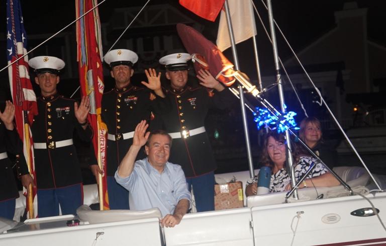 2015-7-3 尼克松故乡别开生面的美国独立日庆祝活动 - 美国国会众议员Ed Royce