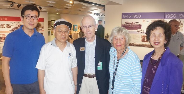 2015-8-5 洛杉矶国际机场博物馆展出向飞虎队致敬图片展 (1)