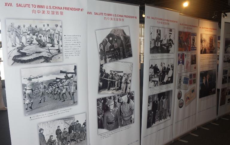 2015-8-5 洛杉矶国际机场博物馆展出向飞虎队致敬图片展 (3)