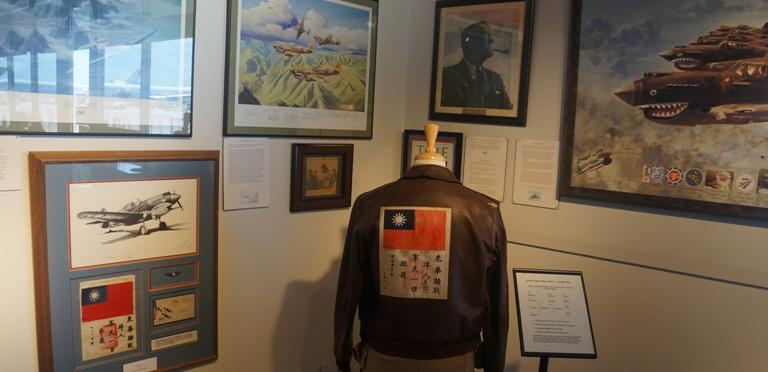 2015-8-5 洛杉矶国际机场博物馆展出向飞虎队致敬图片展 (4)