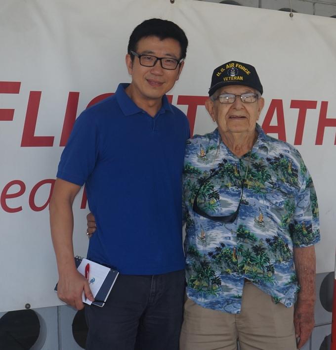 2015-8-5 洛杉矶国际机场博物馆展出向飞虎队致敬图片展 (5)