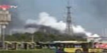 天津港仓库发生爆炸