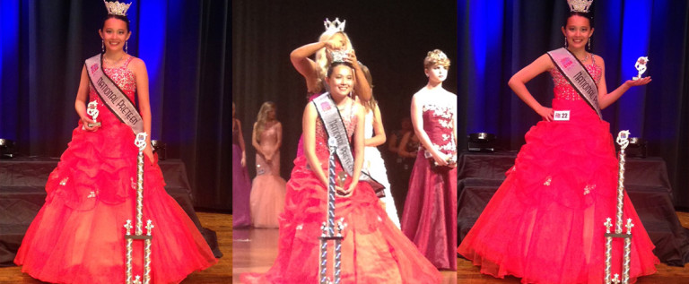 Alexandria 赢了2016  Miss National Pre-Teen