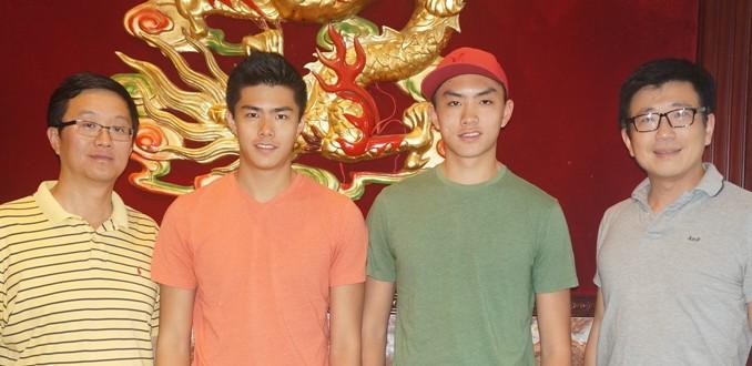 华裔兄弟开创历史 先后入选危地马拉国家排球队