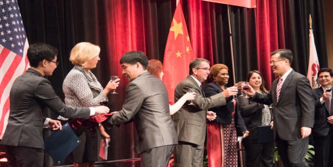 中国驻芝加哥总领事馆国庆招待会