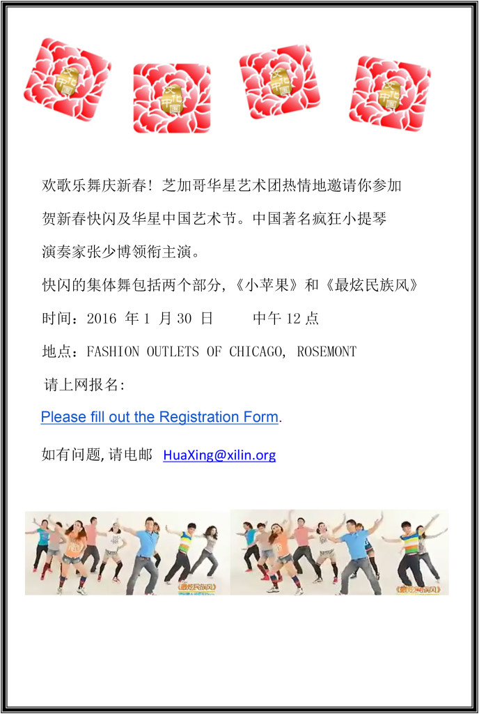 华星艺术节 报名表 4