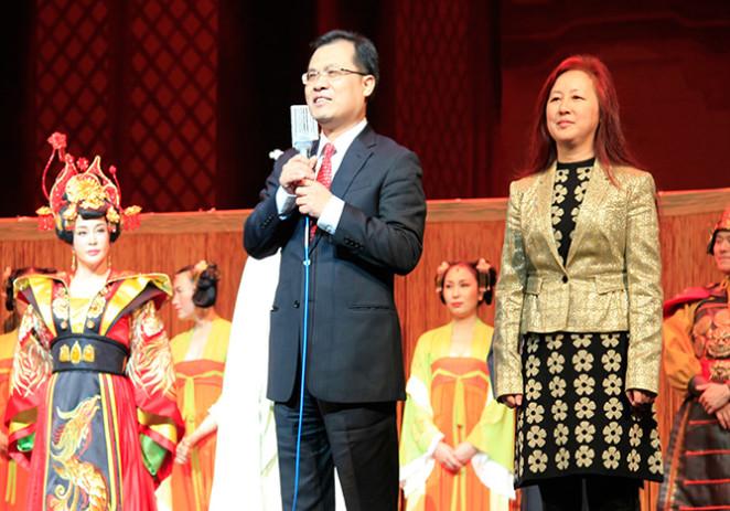 刘晓庆主角芝加哥演出经典天津人艺《武则天》