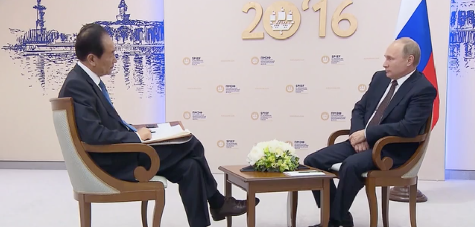 Exclusive  One-On-One Interview With Vladimir Putin