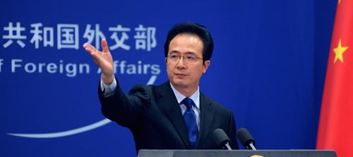 外交部发言人洪磊就任中国驻芝加哥总领事