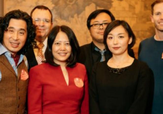 中美金融科技精英齐聚纽约 共庆小诺理财一周岁生日