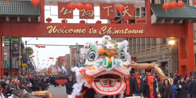 2019 芝加哥 豬年游行 希林, 华星, 广州协会 0210