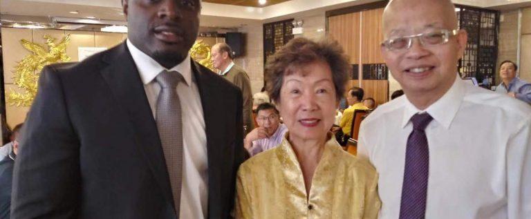 廣州協會代表受邀參加伊州眾議院10區代表籌款晚宴
