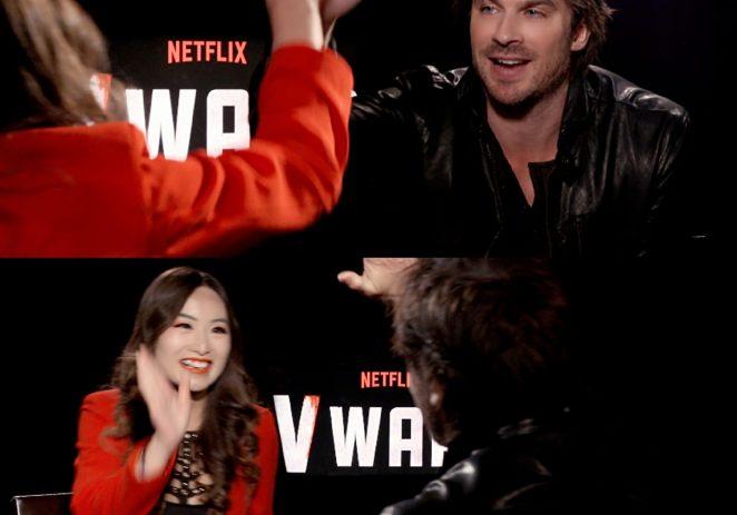 《吸血鬼日记》伊恩最新大片杀青坦言最喜欢中国文化