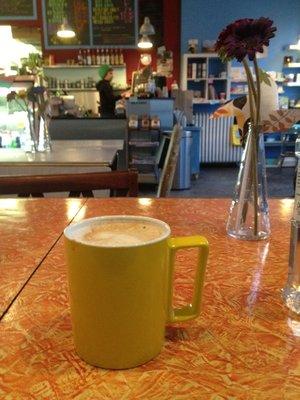 A DE·LI·CIOUS CAFE