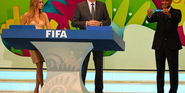 巴西世界杯分组抽签:法国、阿根廷抽得上签