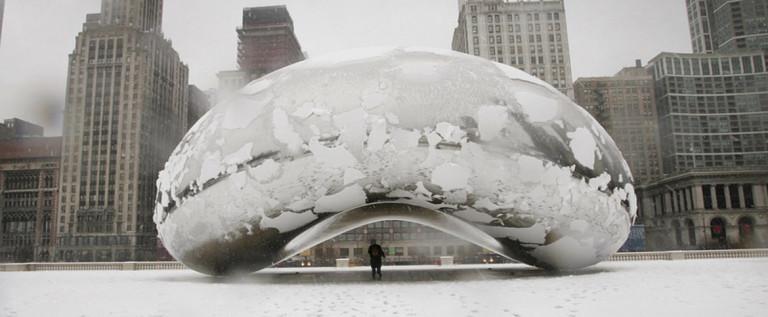 芝加哥气温至摄氏零下24度