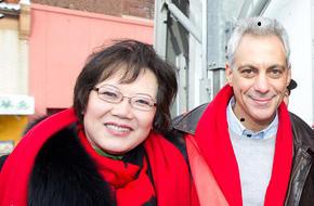 芝加哥市长聘请刘红为社区发展委员会成员 (CDAC))